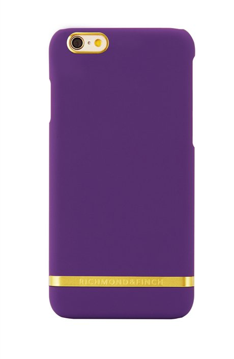 Coque d'iPhone violette