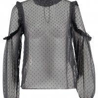 Blouse transparente